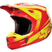 Fox V2 Imperial Red/yellow