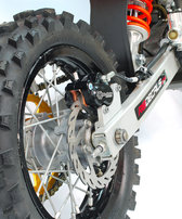 Bromsok bak, 4-kolvs, oversize Sinter Pro pads, KTM SX50/SX65, 02-08