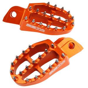 ZETA Aluminum FootPegs KTM SX/EXC -15/-16 Orange