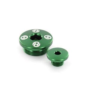 Motorplugg KXF 250 04-10 Grön