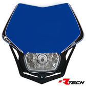 Headlight V-Face Blå