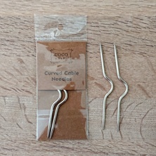 FLÄTSTICKOR /CURVED CABLE NEEDLES