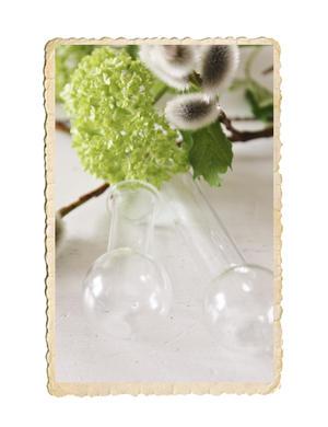 Mini häng glasvas
