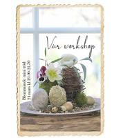 Workshop, Blommande mini träd, 24 mars
