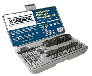 Pro Gunsmith Screwdriver Set