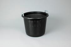 Plastic Basket, 44 Liter, Black