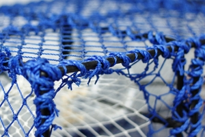 Prawn Creel, Parlour, Blue, Net Entrance