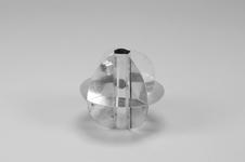 Radar Reflector, 150 mm, 35 mm, Glass Fibre Pole