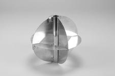 Radar Reflector, 250 mm, 35 mm, Glass Fibre Pole