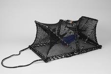 Crab Creel, Foldable, Metal Base