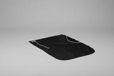 Flag, Dacron, 50x70 cm, Black