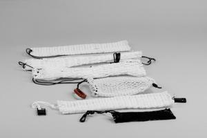 Bait Bag, Detachable, Black, Carabiner Hook