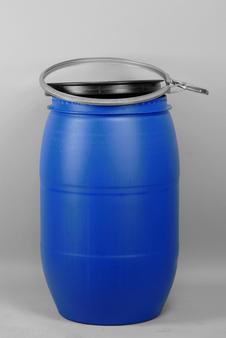 Bait Barrel, Commercial, 120 L, Blue