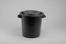 Bait Barrel, Leisure, 50 L, Black