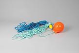 Complete Rope & Bouy Product, Orange