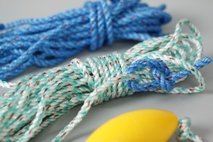 Complete Rope & Bouy Product, Yellow
