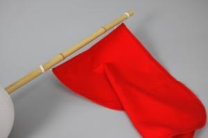 Flag, 35x50 cm, Red