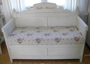 Antikvit nätt soffa Belle Maison