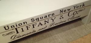 Sittbänk TV-bänk Tiffany & Co