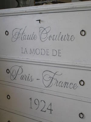 1800-tals-chiffonjé Haute Couture