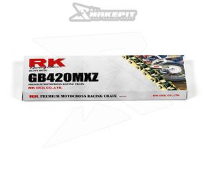 Kedja RK GB420MXZ Heavy Duty GOLD 130L