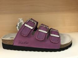 "Sandal ""Sköna Marie"" i lila skinn"