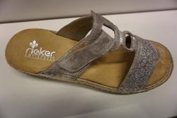 Sandalett, silver, märke: Rieker