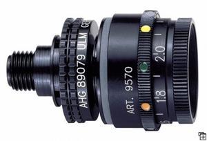 Irisbländare med 5-färg och optik