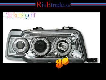 Angel Eyes till Audi 80 B4 / krom