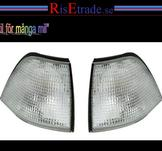 Frontblinkers i silver till BMW E36 Sedan/Touring/Compact