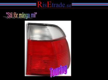 Baklampor rödvit, E39 touring Höger