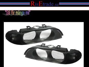 Frontblinkers i svart till BMW E39