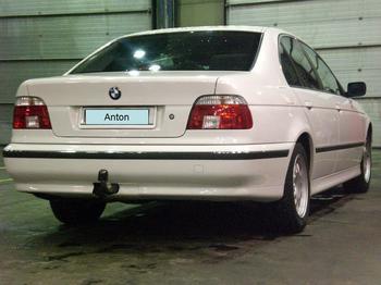 BMW 523i E39. Karesuando