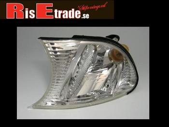 Frontblinkers set BMW E46 coupé & cab i krom