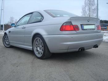 BMW E46 M3. Årjäng