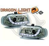 """Strålkastare DRL """"dragonlight""""DESIGNSCHEINWER.SET IBIZA,"""