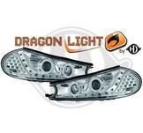 """Strålkastare DRL """"dragonlight""""DESIGNSCHEINWER.SET MONDEO"""