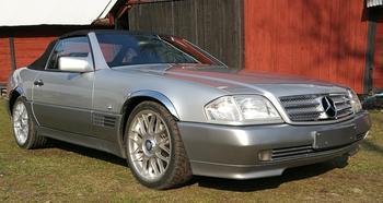 Mercedes SL R129. Gullabo