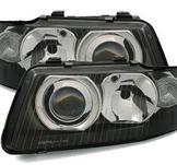 Strålkastare Audi A3 8L facelift / Black