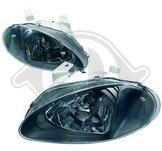 Honda./.Civic CRX Del Sol 92->./.Styling. Designstrålkastare. Ett par höger & vänster