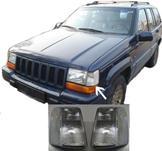 Vita parkeringsljus fram till Jeep Grand Cherokee 93-97