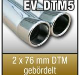 """SuperSport Tips variant DTM5 """"2x76mm DTM fl""""nsade rim"""
