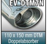 """SuperSport Tips variant DTM7 """"110x150mm DTM, oval, kantad dubbel med en kant absorbers"""