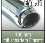 SuperSport avgasrör variant  100mm med 76mm