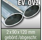 """SuperSport Tips variant OVZ """"2x 90x120mm överfras, flänsade rim"""