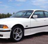 BMW E36, Oskarshamn. KUNDBILD