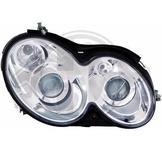 Mercedes./.CLK C209 02->>./.Styling. Designstrålkastare. Ett par höger & vänster