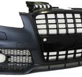 Sportfront med kylargrill i svart Audi A4 04-08