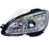 Mercedes..W204 07-11..Ett par designstrålkastare