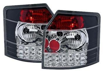 LED baklampor i svart till Audi A4 8E Avant